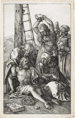 The Lamentation Over Christ by Albrecht Durer at