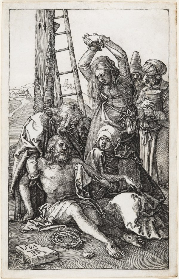 The Lamentation Over Christ by Albrecht Durer