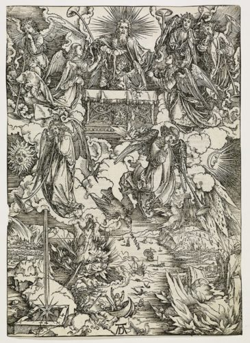 The Seven Trumpets by Albrecht Durer at R. E. Lewis & Daughter