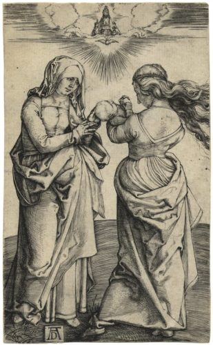 The Virgin And Child With St. Anne by Albrecht Durer at