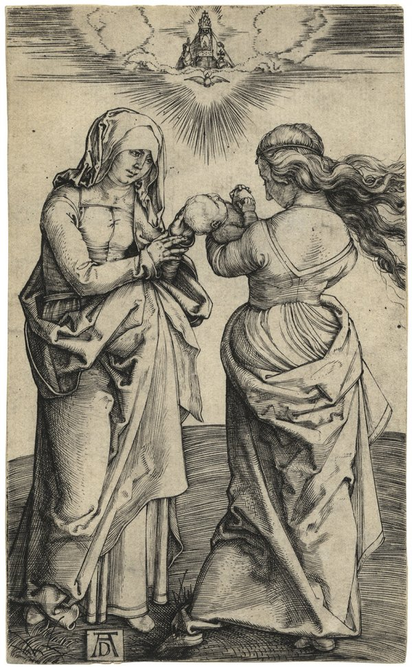 The Virgin And Child With St. Anne by Albrecht Durer
