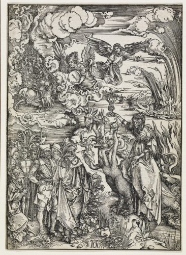 The Whore Of Babylon by Albrecht Durer at R. E. Lewis & Daughter