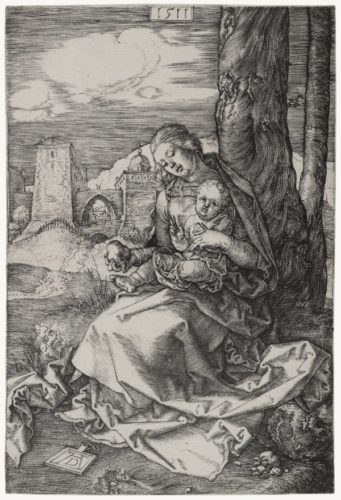 Virgin And Child With The Pear by Albrecht Durer at