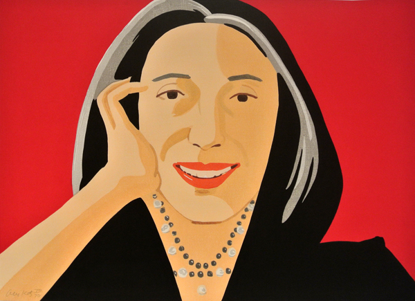Ada by Alex Katz at Hamilton-Selway Fine Art