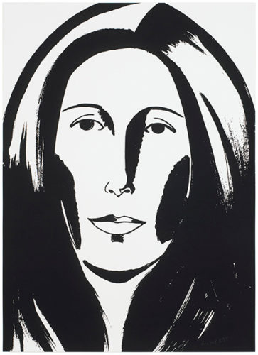Anna (Wintour) by Alex Katz