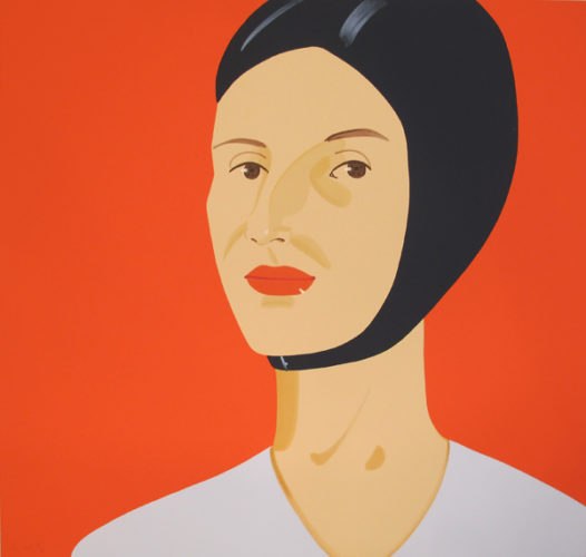 Bathing Cap (ada) by Alex Katz at Hamilton-Selway Fine Art