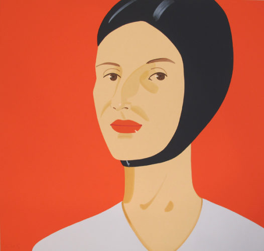 Bathing Cap, Ada by Alex Katz at