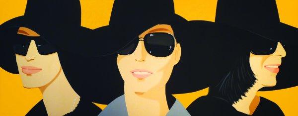 Black Hat IV by Alex Katz at