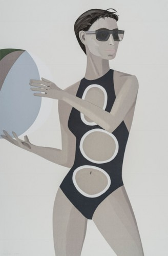Chance 1 (anne) by Alex Katz at Alex Katz