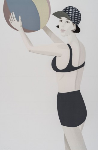 Chance 2 (vivien) by Alex Katz at Alex Katz