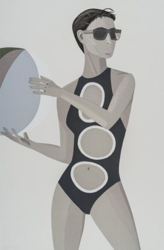 Chance (anne) by Alex Katz