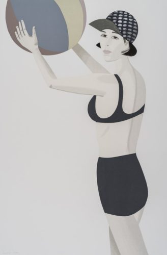 Chance (vivien) by Alex Katz