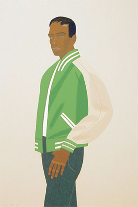 Green Jacket by Alex Katz at Hamilton-Selway Fine Art