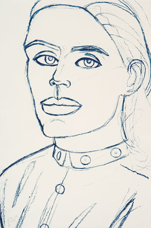 Kate by Alex Katz