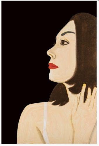 Laura 1 by Alex Katz