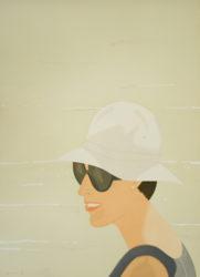 Margit Smiles by Alex Katz at