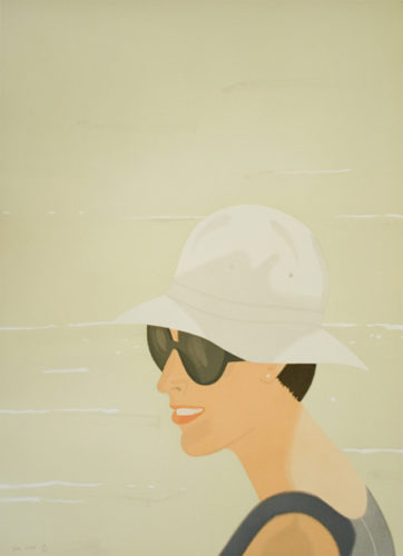 Margit Smiles by Alex Katz