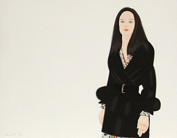 Maria I by Alex Katz at
