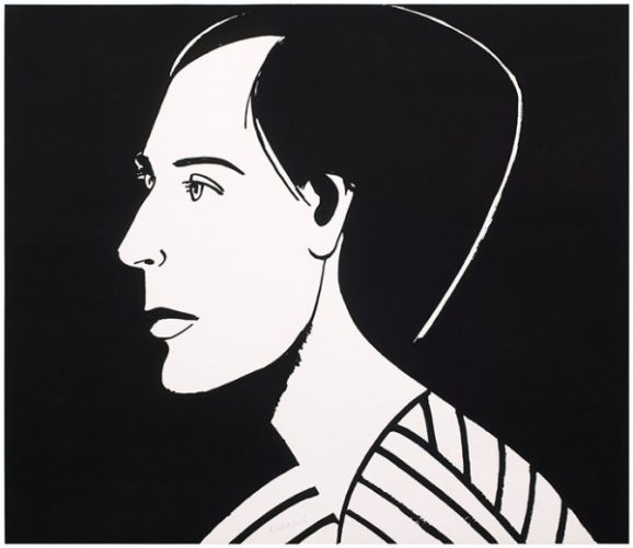 Meghan by Alex Katz