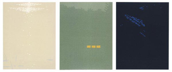 Northern Landscapes (bright Light, Fog, And Night) by Alex Katz