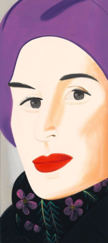 Purple Hat (ada) by Alex Katz at Alex Katz