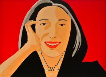 Red Ada by Alex Katz at