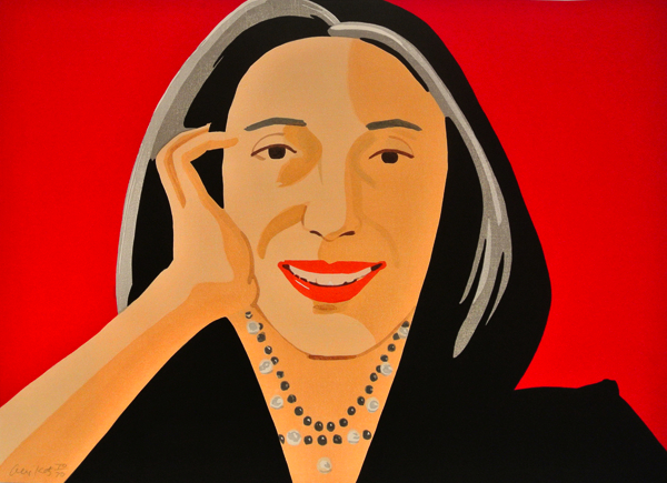 Red Ada by Alex Katz at