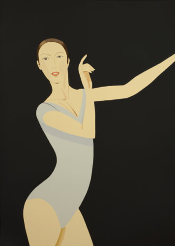 Sarah by Alex Katz at Hamilton-Selway Fine Art