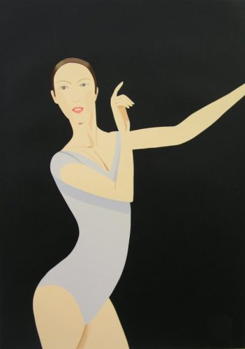 Sarah by Alex Katz at