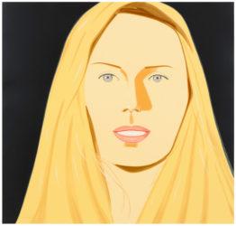 Sarah (mearns) by Alex Katz at