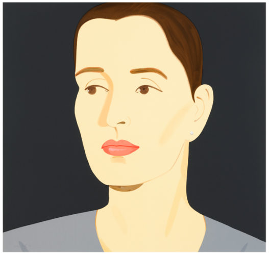 Vivien (bettencourt) by Alex Katz