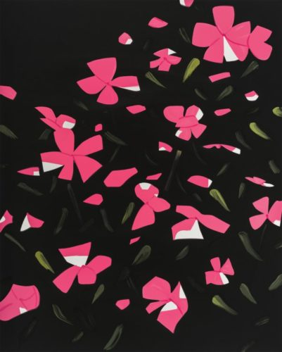 White Impatiens by Alex Katz
