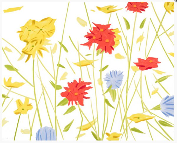 Wildflowers by Alex Katz