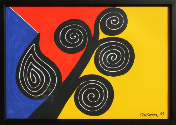 Autumn Harvest by Alexander Calder at