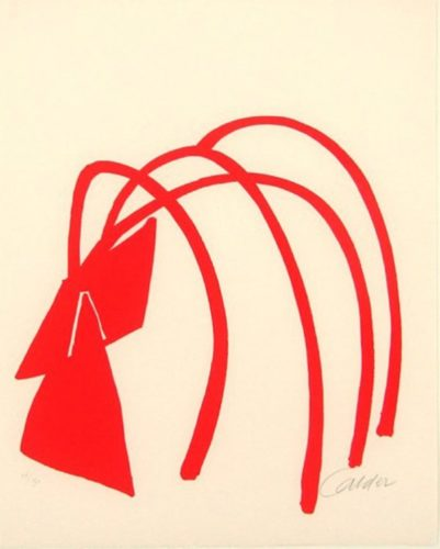 Four Arches by Alexander Calder at