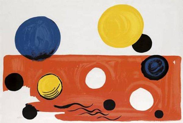 Landscape by Alexander Calder