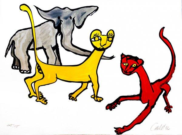 Our Unfinished Revolution: Animals by Alexander Calder