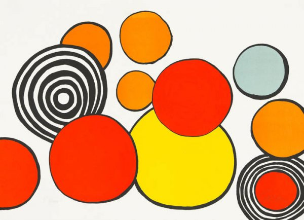 Pleasure Of The Neophyte by Alexander Calder at Christopher-Clark Fine Art