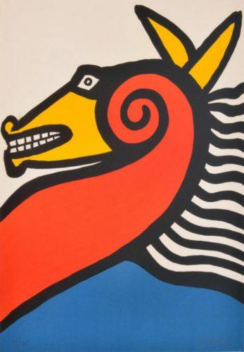 Sea Horse by Alexander Calder