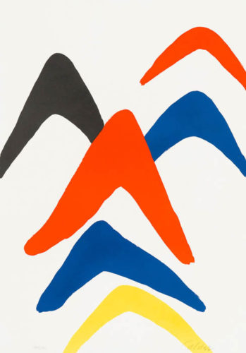 Stabiles by Alexander Calder at