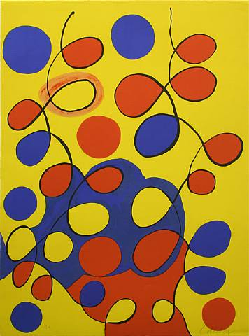 Tapestry by Alexander Calder at