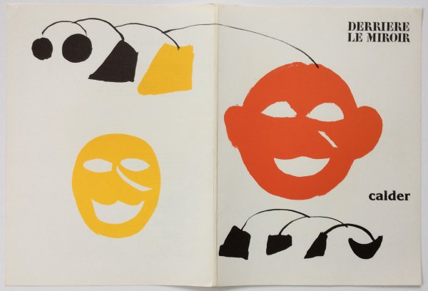 From Derriere Le Miroir 221 Cover Sheet by Alexander Calder at