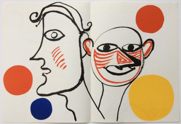 From Derriere Le Miroir 221 Sheet A by Alexander Calder at