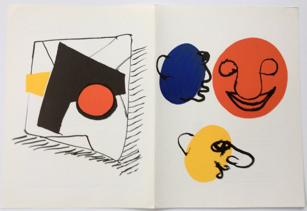 From Derriere Le Miroir 221 Sheet B by Alexander Calder at