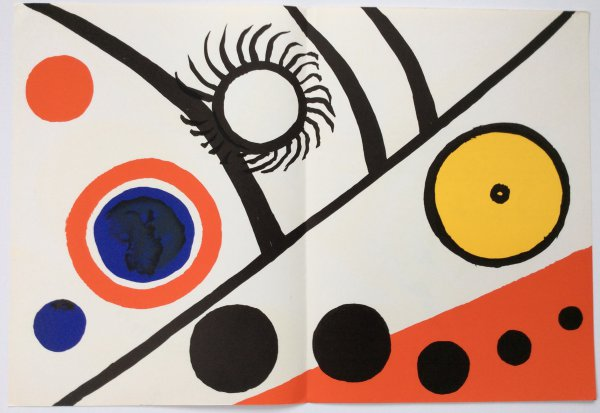From Derriere Le Miroir 221 Sheet C by Alexander Calder at