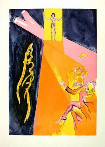 Catwalk Ii by Allen Jones at Allen Jones