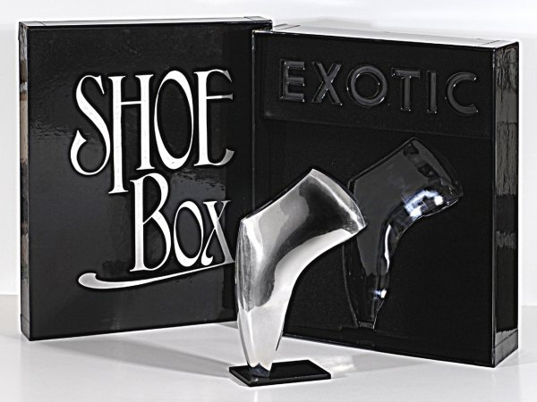 Shoe Box – Exotic. 1968. by Allen Jones at William Weston Gallery (IFPDA)