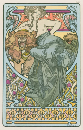 Untitled From Documents Décoratifs by Alphonse Mucha