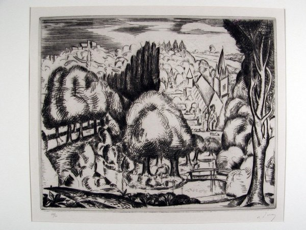 Paysage (le Morin) by Andre Derain at