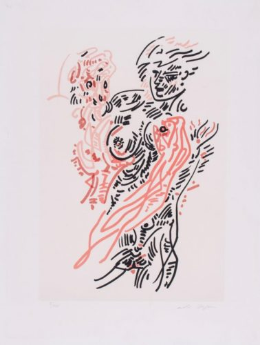 Le Couple by Andre Masson